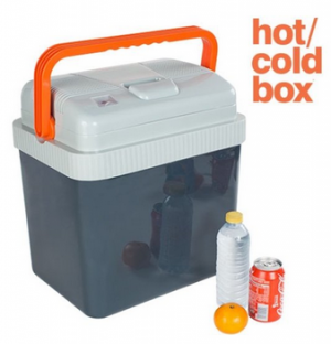 hot/cold elektrische koelbox 24l
